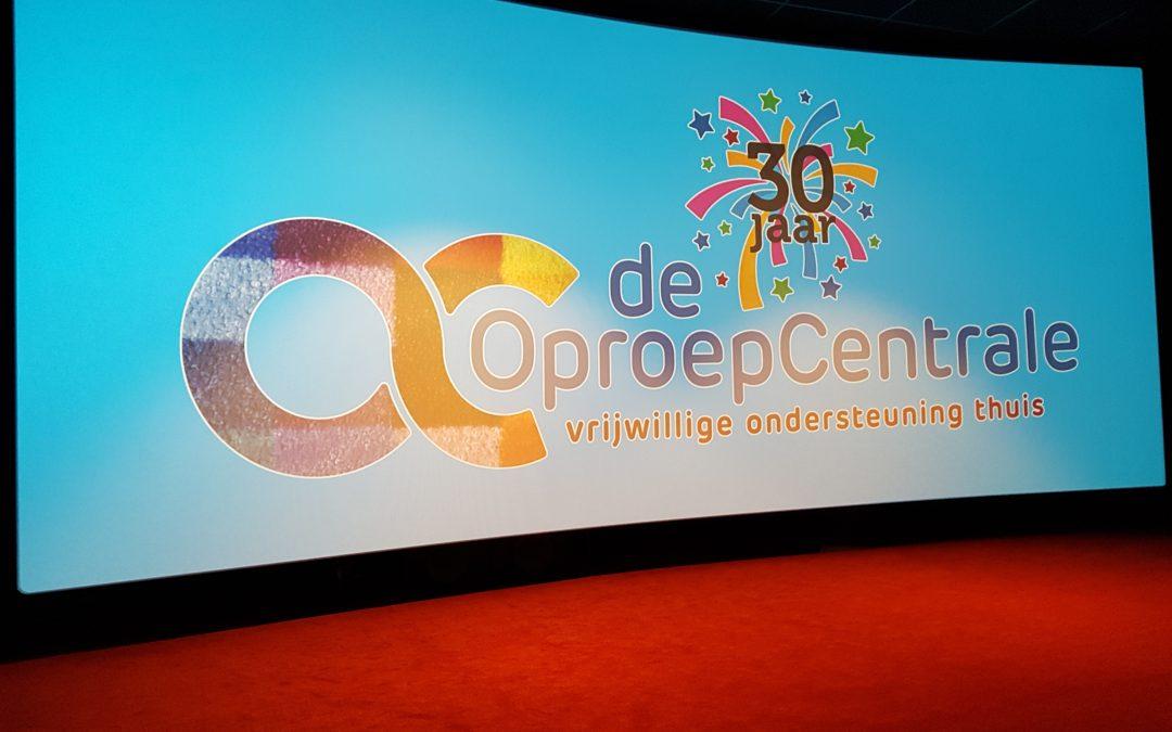 Vrijwilligers OproepCentrale genoten van bioscoopuitje